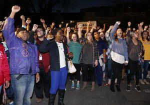 Racist chant